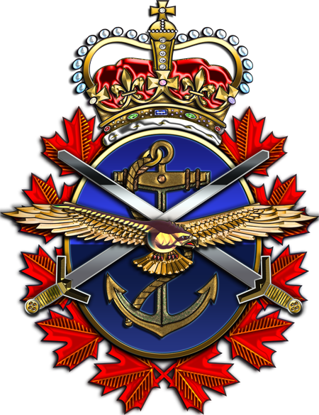 Canadian Forces Badge [1.5x2]