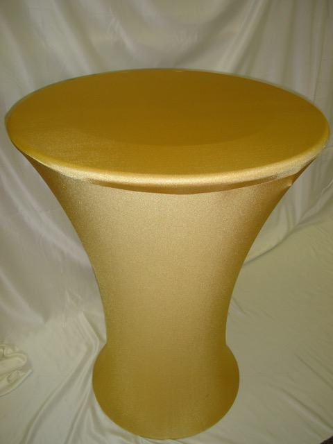 S9. Round Base Cocktail Table Cover