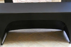 S7. Open Back Spandex Table Cover