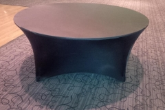 S6. Round Spandex Table Cover
