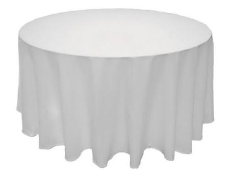T14. Poplin Round Tablecloth